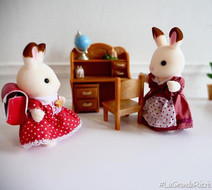 Figurines sylvanian families